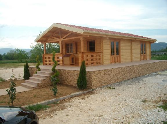 Lodge Homes for sale France, auto-construction de kits de lodge en Espagne